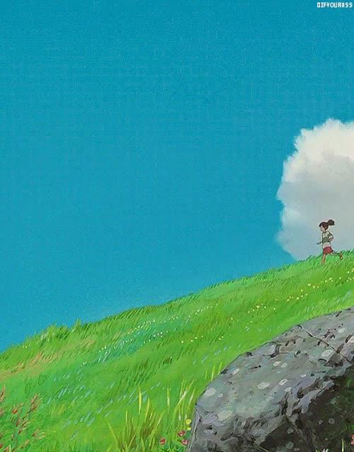 Watch and share Ghibli Scenery GIFs and Hayao Miyazaki GIFs on Gfycat