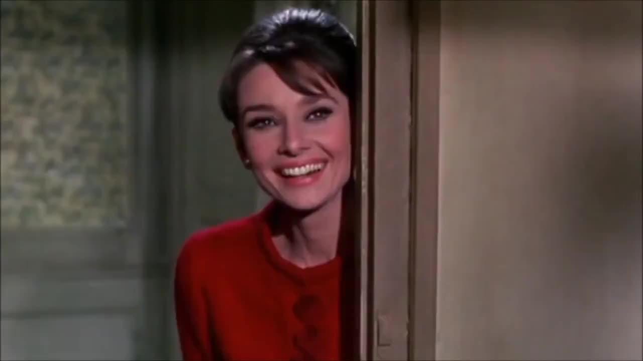 audrey hepburn, celebrities, celebrity, celebs, filmlegend, funny girl., george peppard, henry mancini, moonriver, moviestar, sabrina 1954, tribute, Audrey Hepburn ♥ Unforgettable GIFs