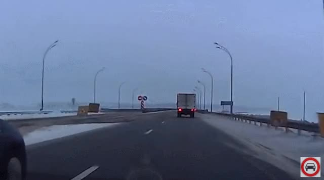 Watch Bridge spinout GIF by /r/Dashcamgifs (@razorray21) on Gfycat. Discover more dashcam GIFs on Gfycat