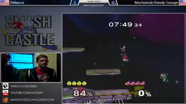 Watch Smash Castle - Dekunut (Falco) vs Machoman Randy Savage (Samus, Sheik) Winners Round 3 (reddit) GIF on Gfycat. Discover more related GIFs on Gfycat