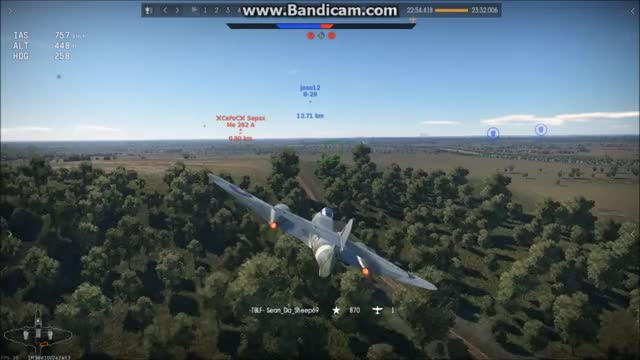 Watch Meteor Mk 3 Snipe GIF by @seandasheep69 on Gfycat. Discover more Warthunder, me262, meteor GIFs on Gfycat