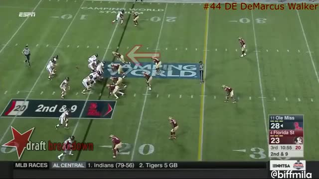 Watch DeMarcus Walker (Florida State) vs. Ole Miss (2016) GIF on Gfycat. Discover more related GIFs on Gfycat
