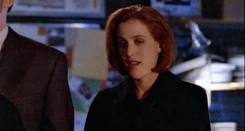 Watch and share Scully Is A Lesbian GIFs and Mulder And Scully GIFs on Gfycat