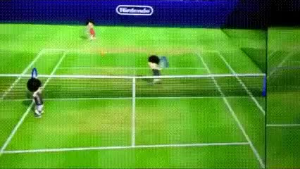 Watch and share Wii Tennis GIFs on Gfycat