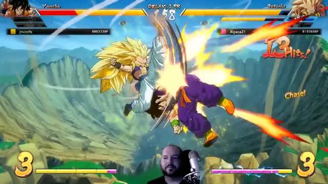 Watch goku GIF on Gfycat. Discover more Android 18, Base, Combos, Dragon Ball FighterZ, Form, Goku, Gotenks, Level 3, Setups, Spirit Bomb GIFs on Gfycat
