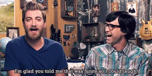 Watch None of These Days GIF on Gfycat. Discover more Good Mythical Morning, Rhett Mclaughlin, Rhett and Link, giggles, gmm, gmm 737, grave gif, request GIFs on Gfycat