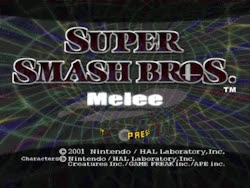Watch and share Gif Mine Gamecube Smash Bros Title Screen Smash Bros Melee GIFs on Gfycat