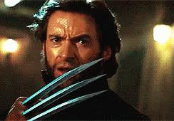 hugh jackman, james howlett, logan, mutant, weapon x, wolverine, x-men, Wolverine XMen GIFs