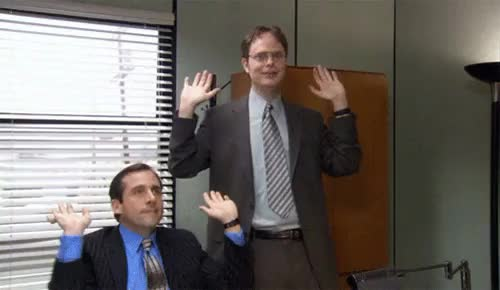 Watch and share Office Raise The Roof GIFs on Gfycat