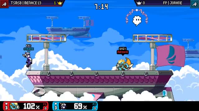 Watch and share Rivals Of Aether GIFs and Forsburn GIFs by Menace13 on Gfycat