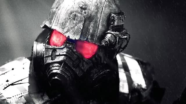 Watch and share Fallout-New-Vegas-Riot-Armor-Live-Wallpaper GIFs on Gfycat