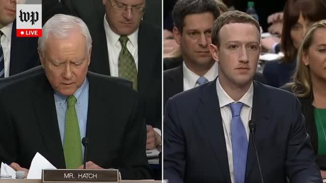 Watch and share Mark Zuckerberg GIFs and Orrin Hatch GIFs on Gfycat