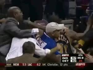 Watch and share Stephen Jackson GIFs and Detriot Pistons GIFs on Gfycat