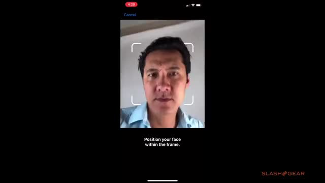 Watch and share Enrolling Into IPhone X Face ID GIFs on Gfycat