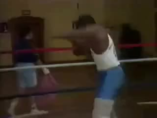 Watch Young Mike Tyson shadowboxing - quick hands for a heavyweight! GIF on Gfycat. Discover more related GIFs on Gfycat