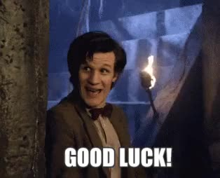 Watch good luck GIF by Reaction GIFs (@sypher0115) on Gfycat. Discover more Matt Smith, fingerscrossed, good luck, goodluck GIFs on Gfycat
