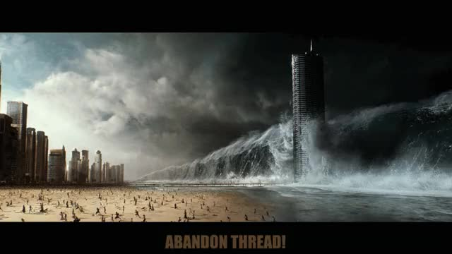 Watch this abandon thread GIF by The Gifs Shop (@thegifshop) on Gfycat. Discover more abandon thread, do not want, fear, geostorm, goodbye, gtfo, i give up, nervous, panic, reaction, running, scared, scary, storm, tidal wave GIFs on Gfycat