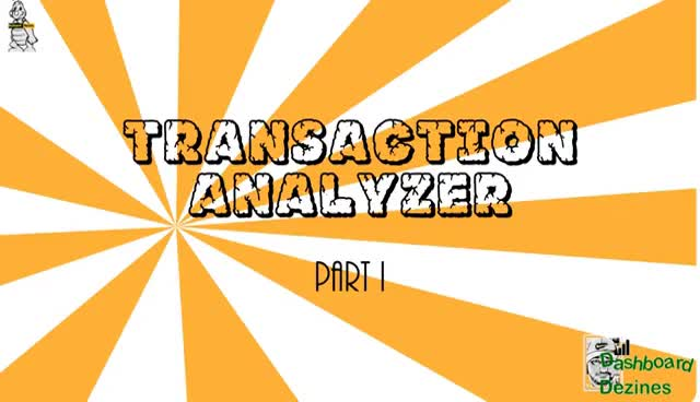 Dashboard Dezines : Transaction Analyzer GIFs