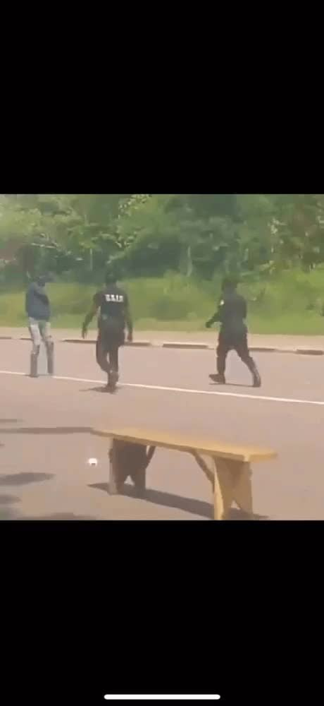 Watch and share Cop Takes Down Guy With A Machete GIFs on Gfycat