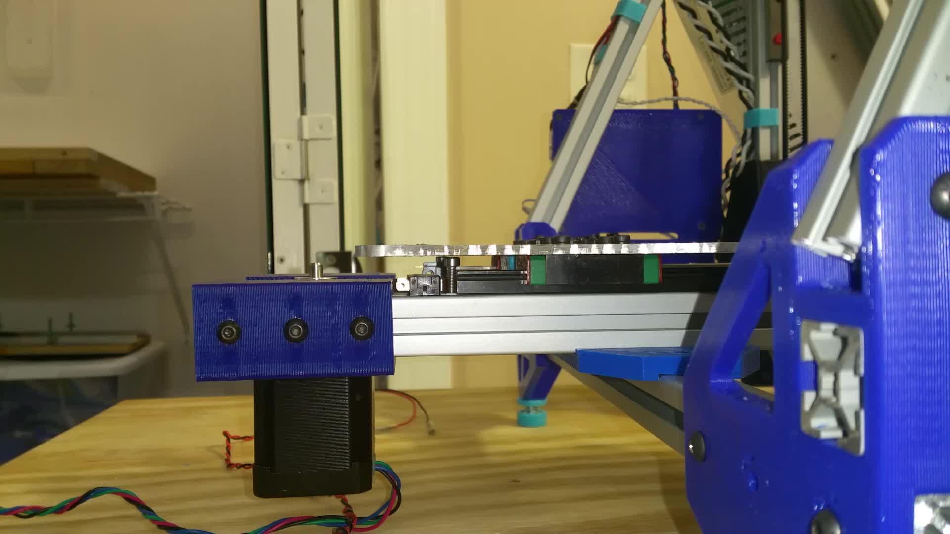 3D Printer, 3D Printing, Deltesian, Deltesian Hybrid 3D Printer, Deltesian GEN2 - Y-Axis - Limit Switch Mount GIFs