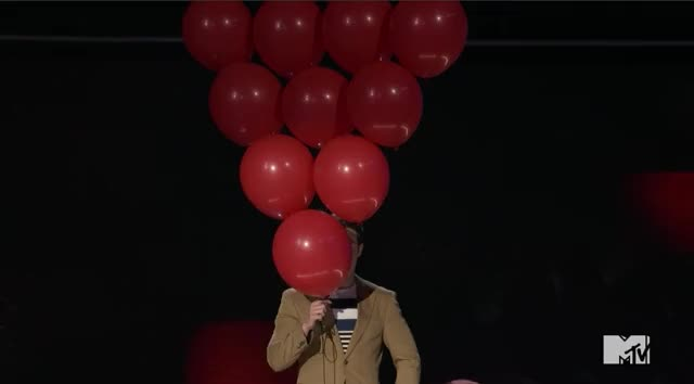 Watch and share Mtv Awards 2017 GIFs and Balloons GIFs by Reactions on Gfycat