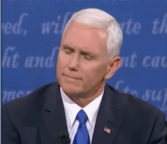 Watch and share Mike Pence GIFs and Mikepence GIFs by Richard Rabbat on Gfycat