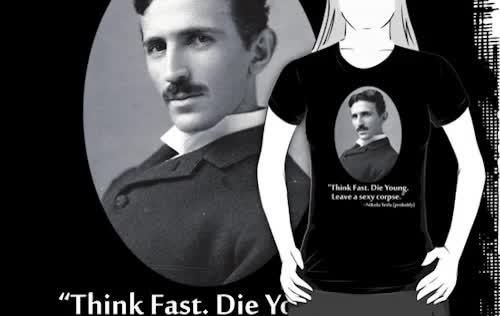 Watch Sexy Tesla/Fake Tesla Quotes on Redbubble:Too Hot (Hot Damn) GIF on Gfycat. Discover more Tesla, edison, funny, history, inventor, inventors, nikolai, nikolai tesla, science, scientist, thomas edison GIFs on Gfycat