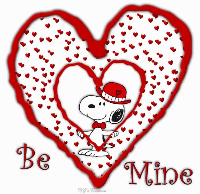 Watch and share Valentine Snoopy GIFs on Gfycat