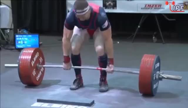 Watch and share John Haack - 813kg 1st Place 83kg - IPF World Classic Powerlifting Championships 2016 GIFs on Gfycat