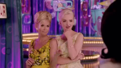 Watch and share Kristin Chenoweth GIFs and Dove Cameron GIFs on Gfycat