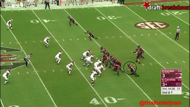 Watch and share Hayden Hurst Vs Arkansas GIFs on Gfycat