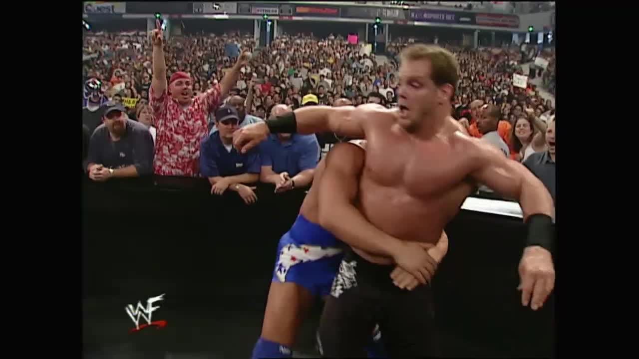 SquaredCircle, Angle murdering Benoit's nuts (reddit) GIFs
