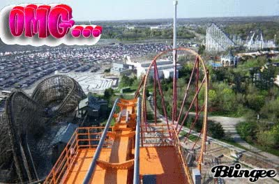 Watch and share Raging Bull Six Flags GIFs on Gfycat