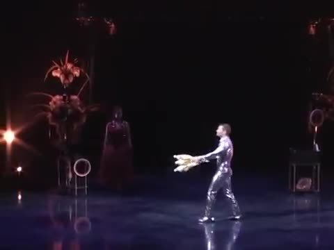 juggling, Gatto Running Seven Clubs On Stage Like Its Nothing [gif] (reddit) GIFs