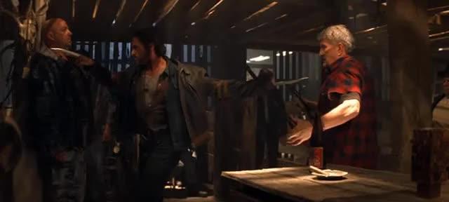 Watch The Bar GIF on Gfycat. Discover more Logan, Rogue, x-men GIFs on Gfycat