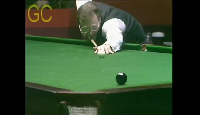 Snooker W.C.[1985]-Davis v Taylor {Final-Frame} [HD] (Complete) GIFs