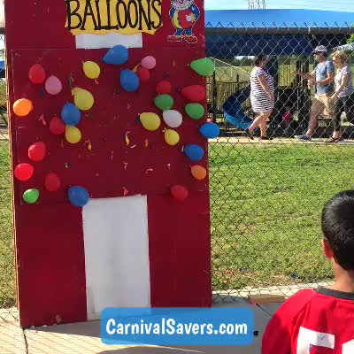 Watch and share Diy Game GIFs and Balloon GIFs by Carnival Savers on Gfycat