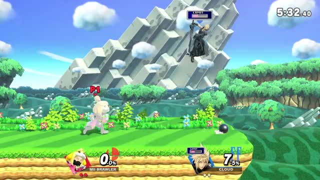 Watch and share Mii Brawler GIFs and Cloud GIFs by BOBdotEXE on Gfycat