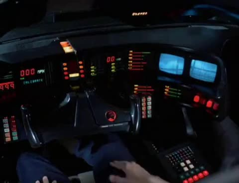knight rider, THE BEST DASHBOARD EVER GIFs
