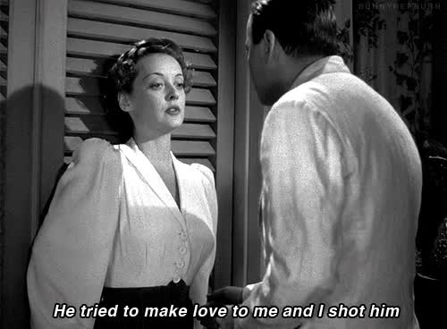 Watch kill love GIF on Gfycat. Discover more bette davis GIFs on Gfycat
