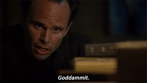Watch and share Walton Goggins GIFs and Damn It GIFs on Gfycat