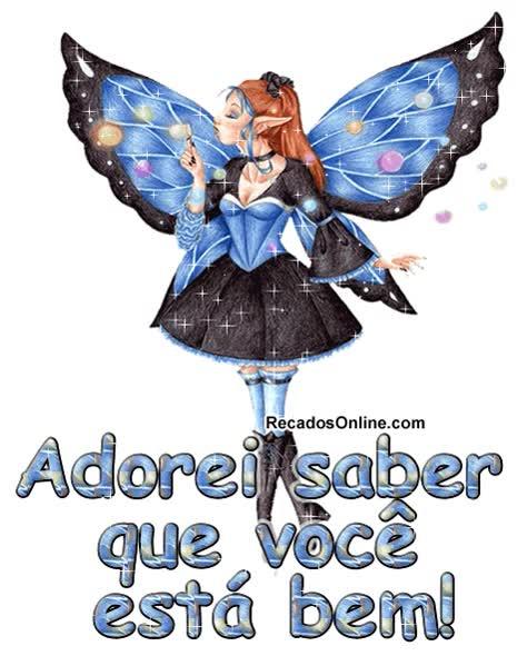 Watch and share Adorei Saber Que Você Está Bem! animated stickers on Gfycat