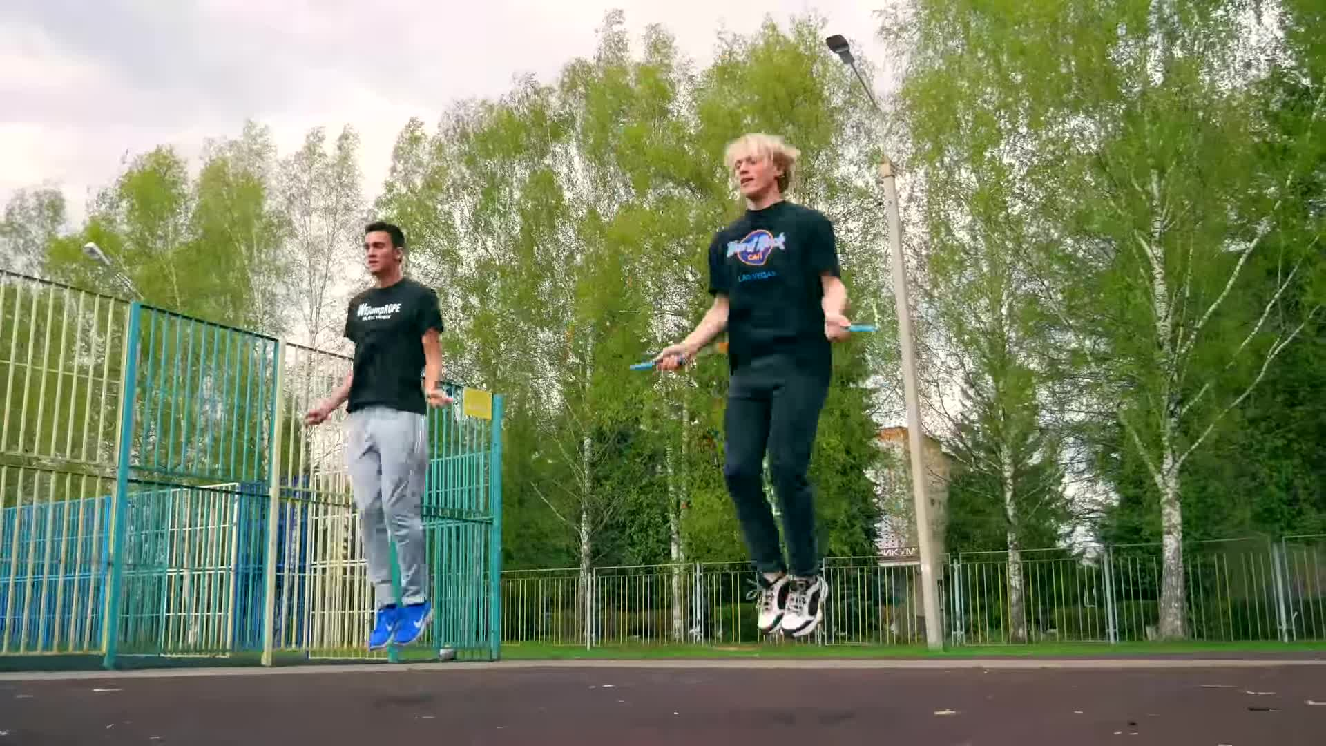 devin meek, fail, film & animation, jump forrest jump, jump rope challenge, pie, russia, wejumprope, wejumprope music videos, yana jump rope, PIE IN THE FACE Jump Rope Challenge! in Russia! GIFs