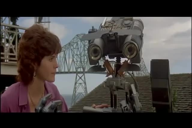 Watch and share Short Circuit GIFs and Johnny 5 GIFs on Gfycat