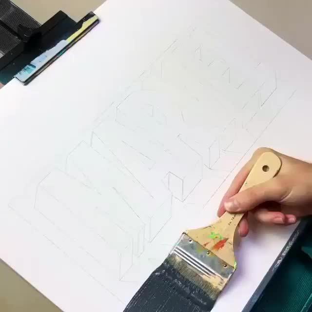 3d drawing, amazing, drawing, marvel, Marvelous GIFs