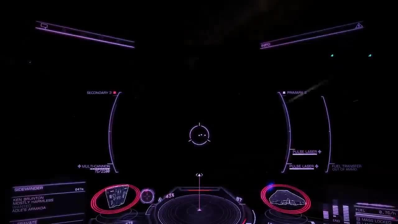 elitedangerous, gamingpc, Well, that's one way to win a dogfight. GIFs