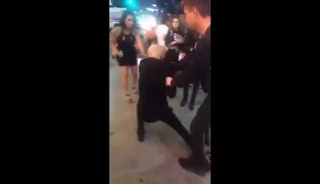 Seth Bishop vs. Diegosaurs Fight Outside Blackbear Concert (full video)