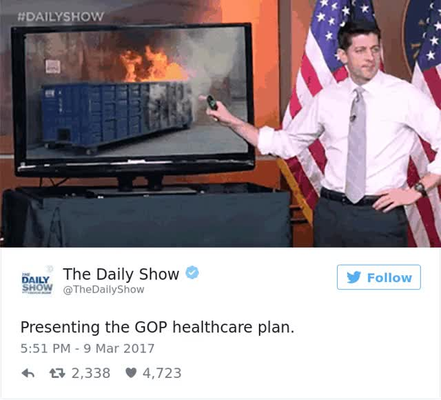 Watch and share Funny Paul Ryan Healthcare Presentation Photoshop Battle GIFs on Gfycat