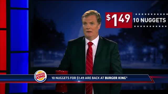 Watch Burger King Commercial 2016 Nuggets $1.49 10-pc GIF on Gfycat. Discover more burger king, chicken nugget, nuggets GIFs on Gfycat
