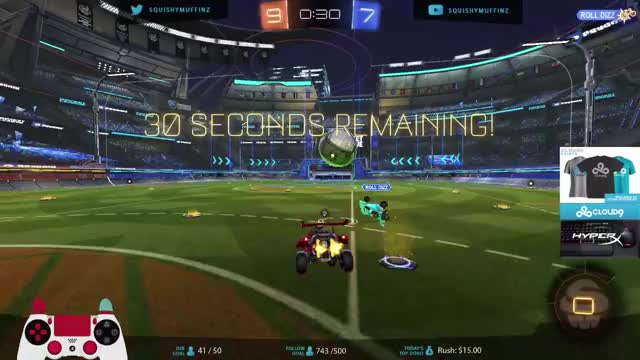SquishyMuffinz triple wave dash goal